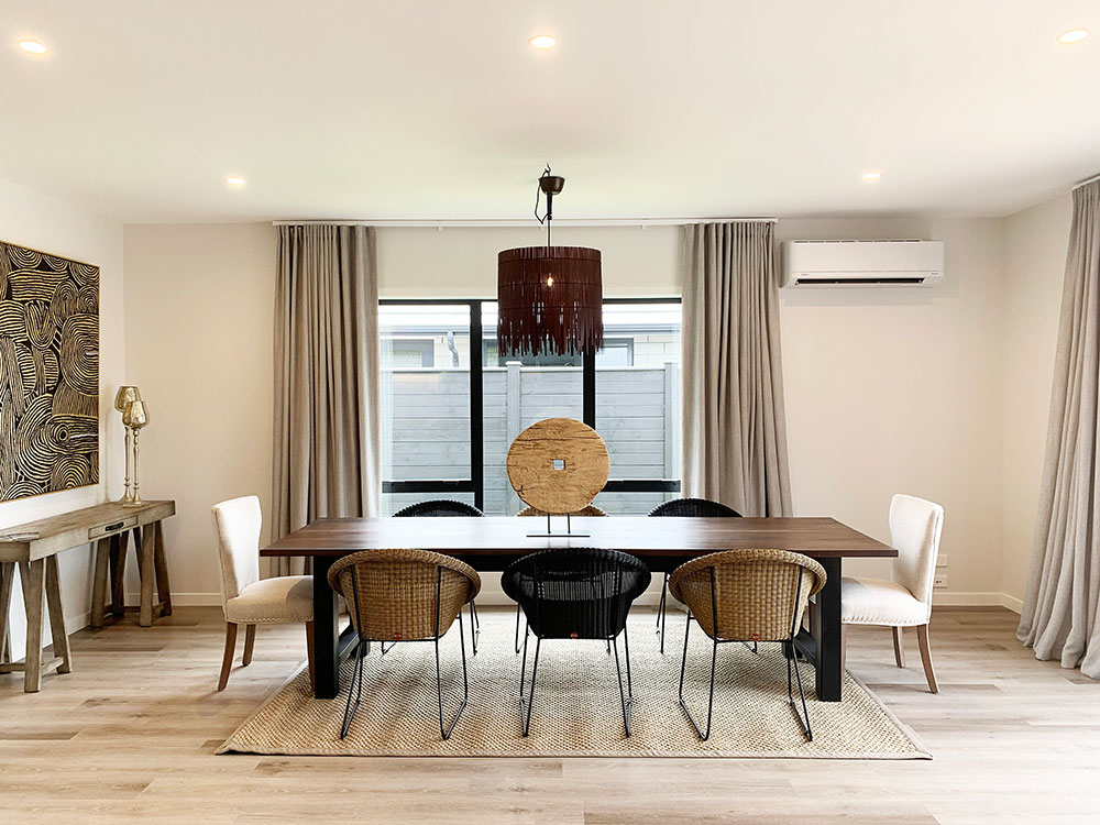 Cambridge Showhome dining room